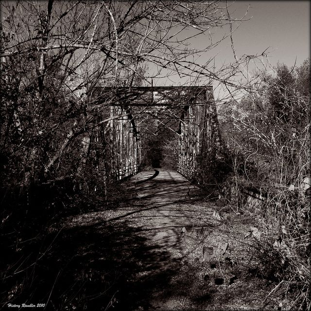 Abandoned North Carolina Homes: The Bridge Less Traveled
