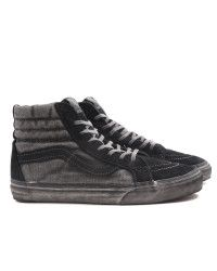 accd7617e7 Vans Sk8 Hi Reissue Ca Over Washed Black in Black for Men