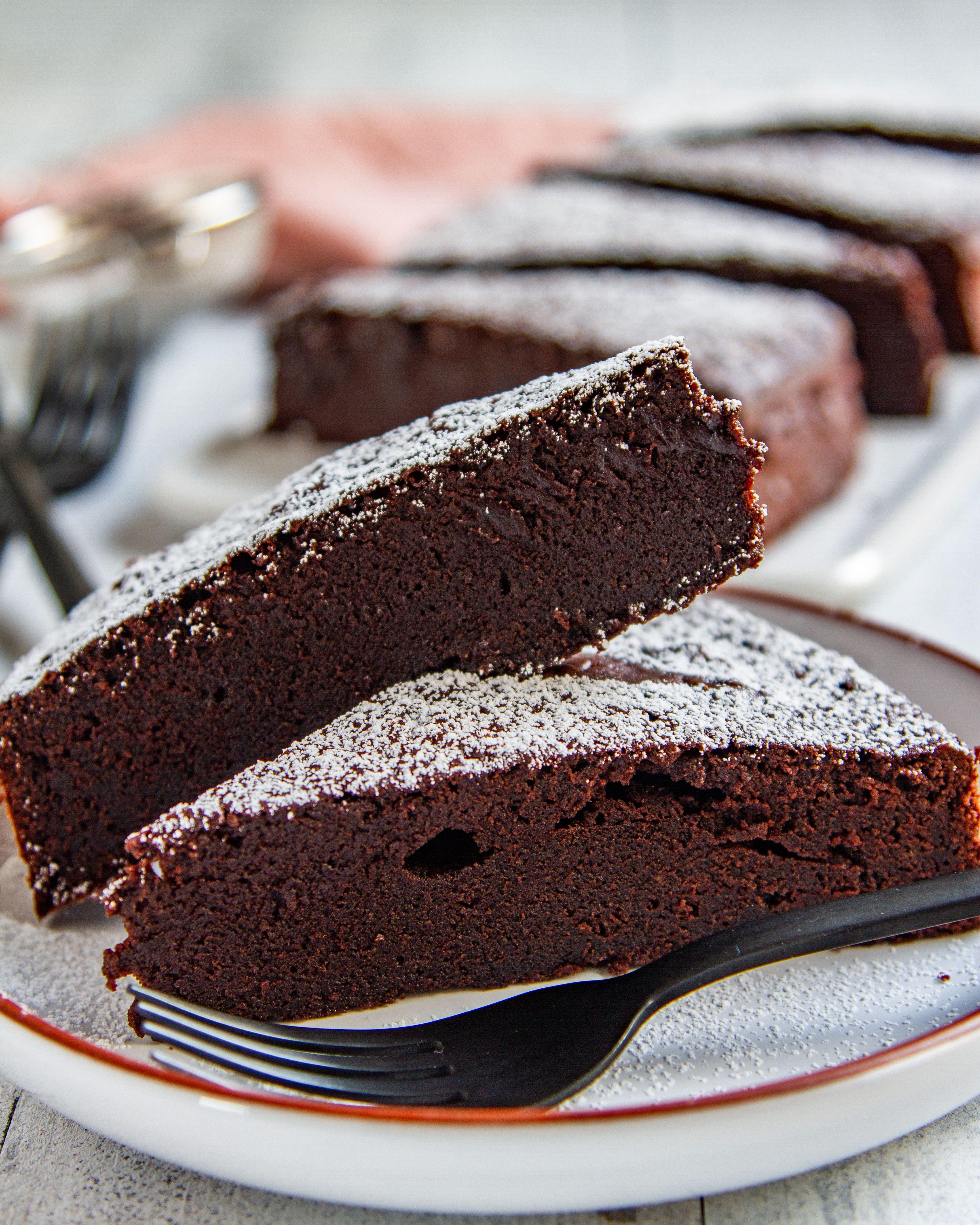 Schwedischer Schokoladenkuchen