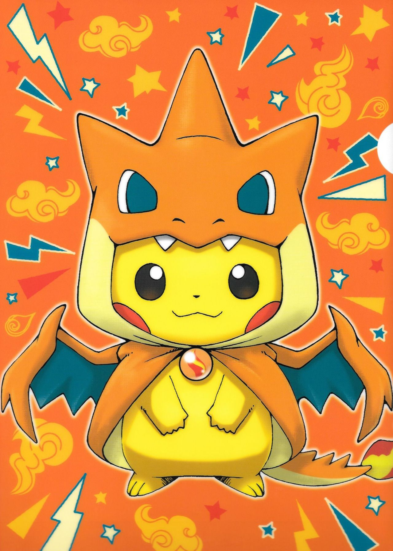 pikachu con disfraz de mega charizard | mmm | pinterest | ポケモン