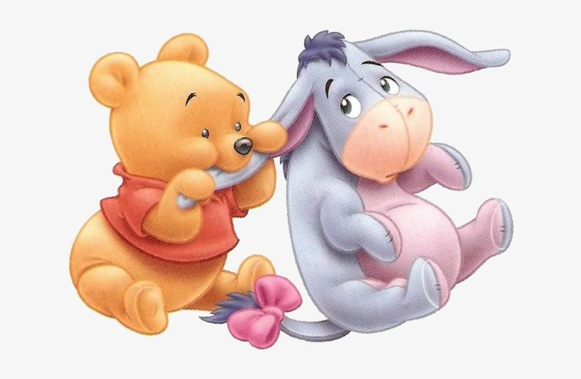 Download Cute Winnie The Pooh Drawings Baby Pooh And Eeyore Png Image For Free The 678x472 Transparent P Cute Winnie The Pooh Cute Cartoon Wallpapers Winnie