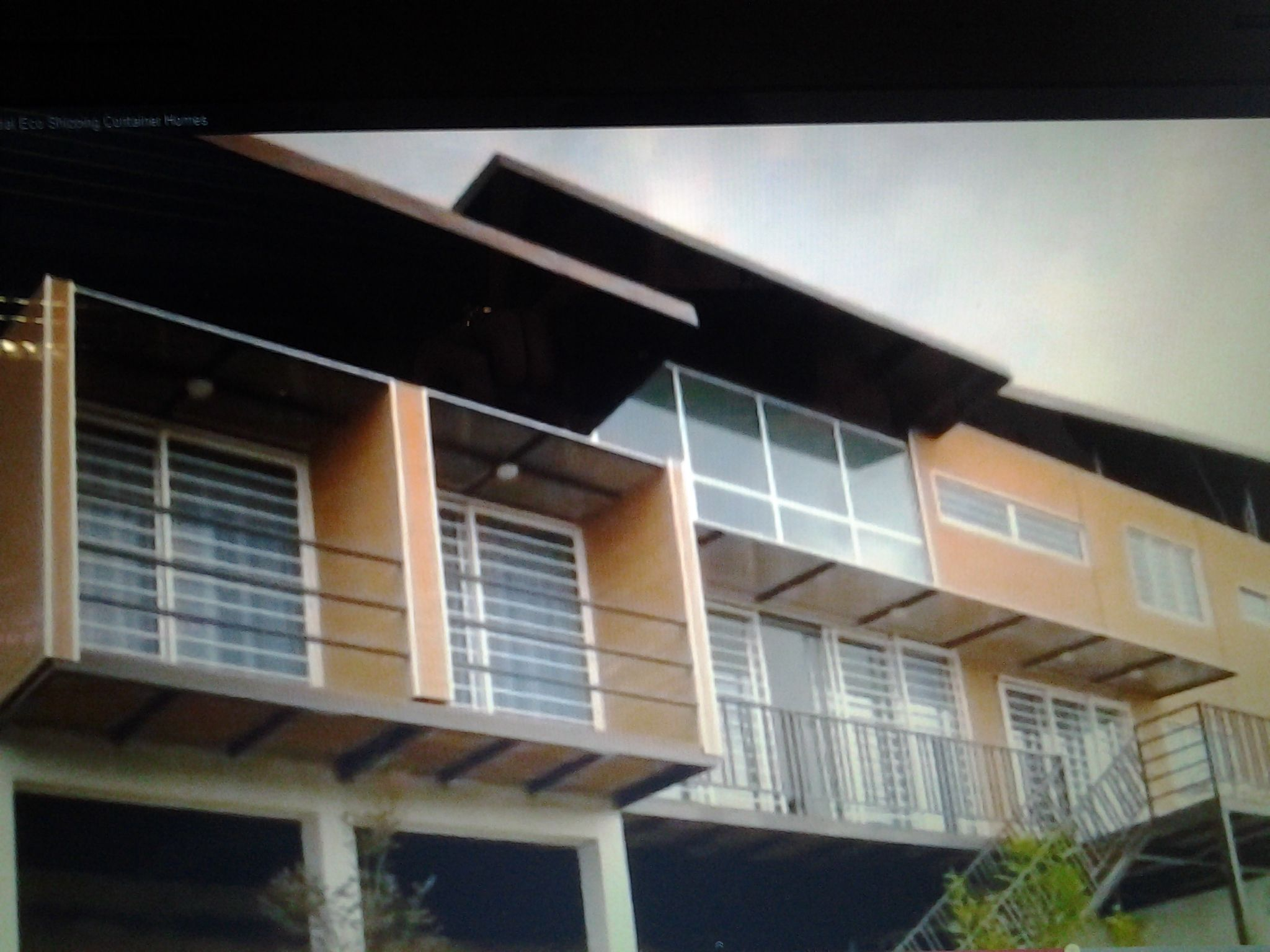 Shipping Container High Rise Home Shipping Containers Homes