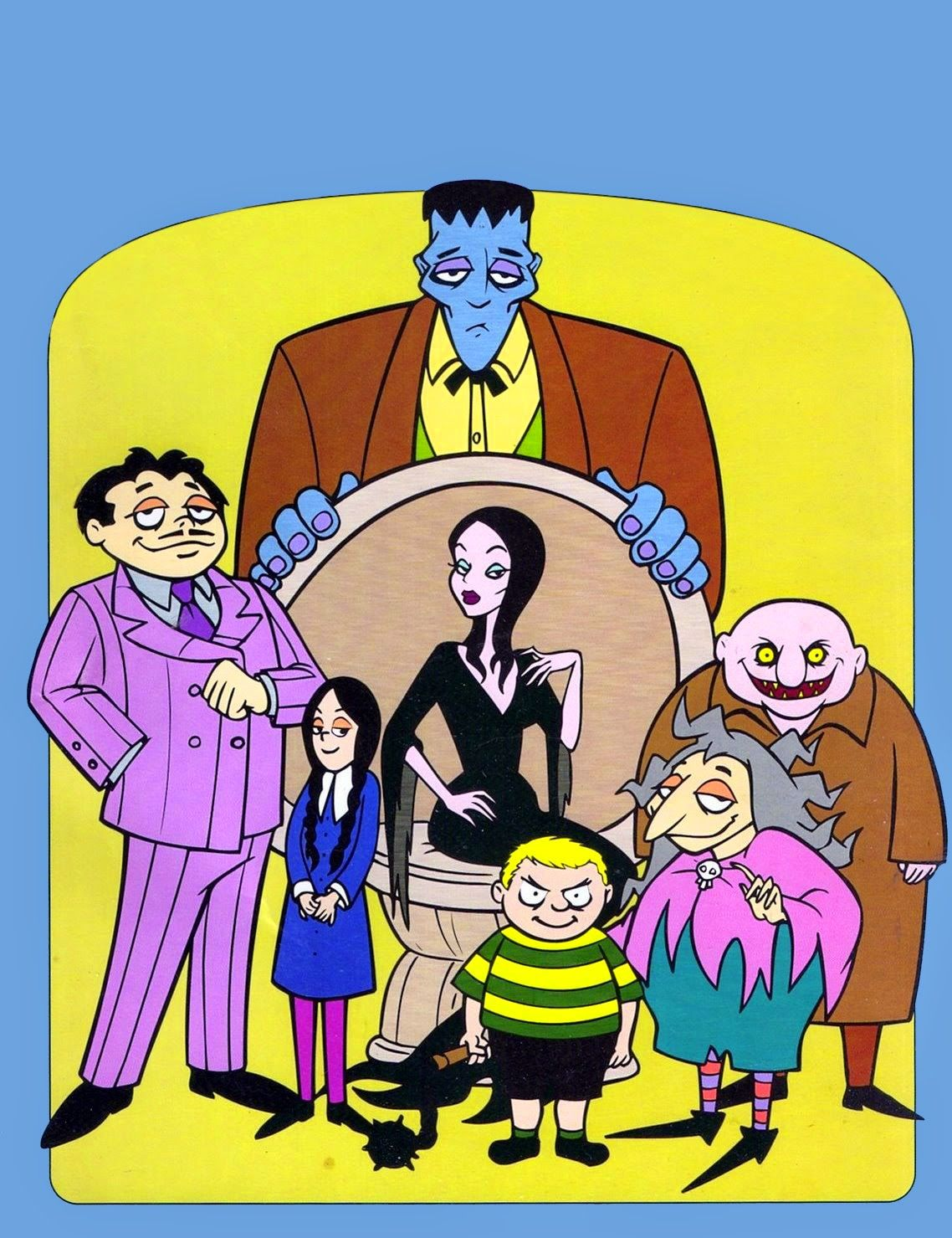 Saturday Morning Cartoons The Addams Family Addams Family
