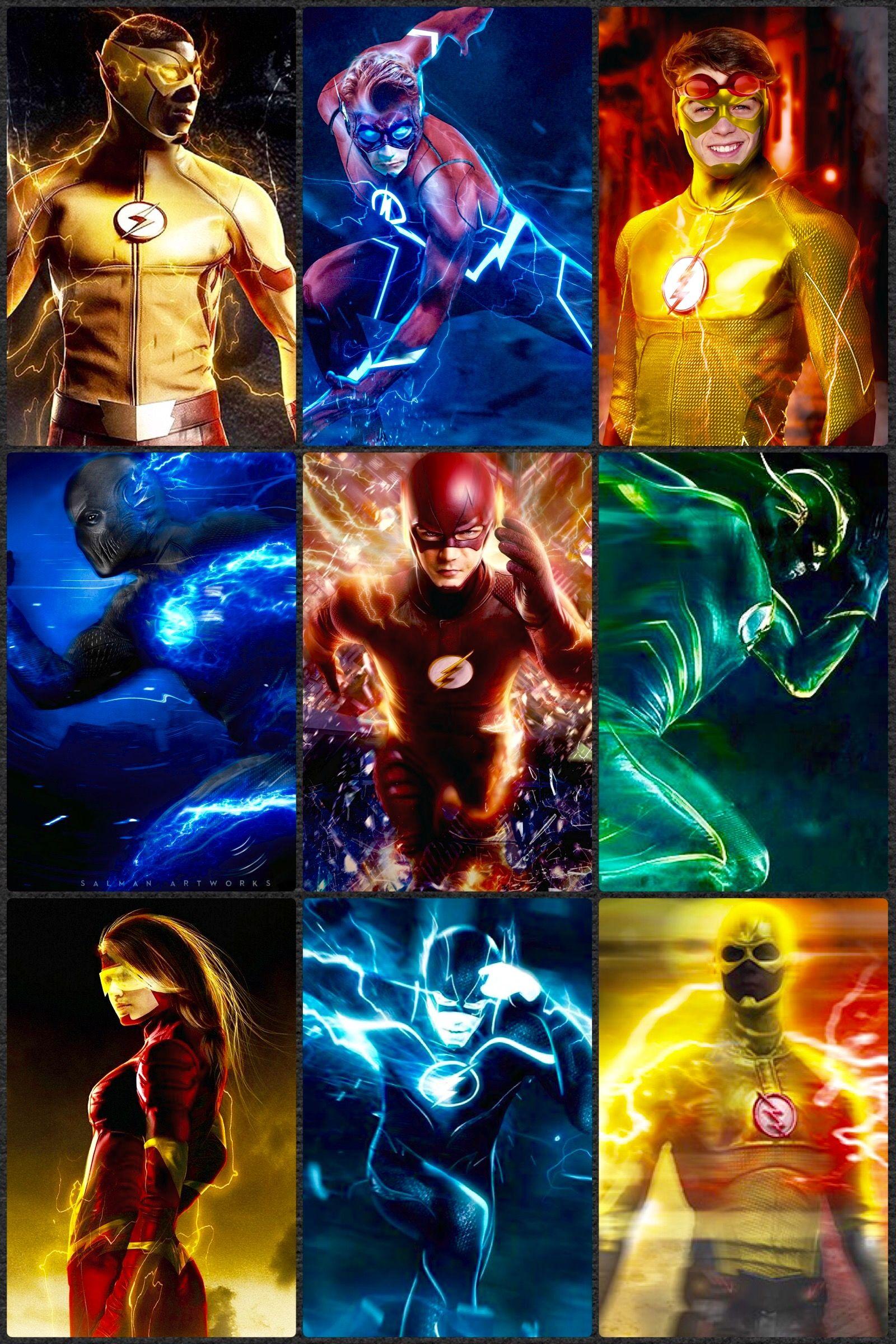 Dc speedsters j fuller 39 s dc heroes and villains pinterest - Flash le super heros ...