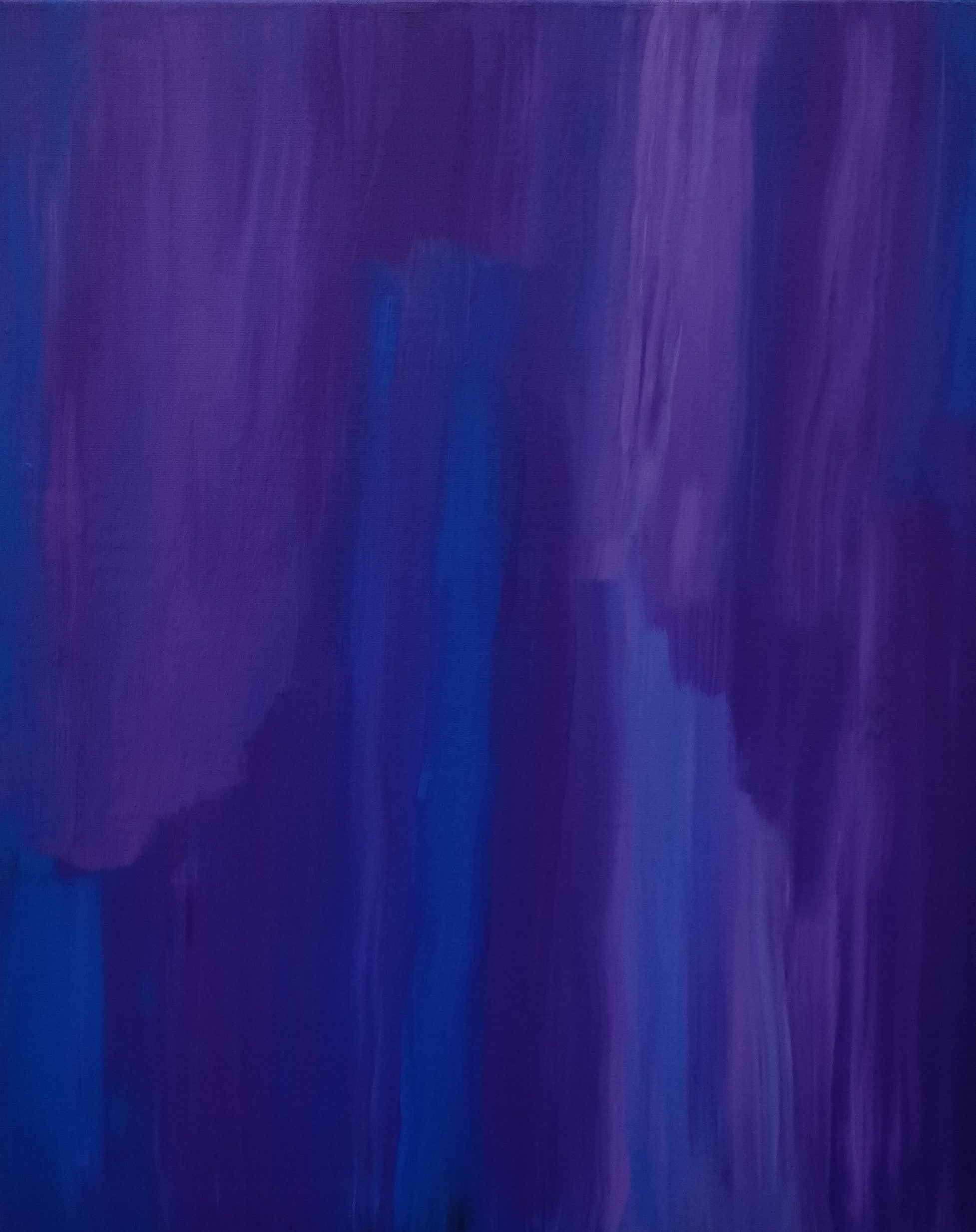 Awash The Luminous Palette Acrylic Paint Canvas Purple Blue Abstract Art Painting Wall Fine Artwork
