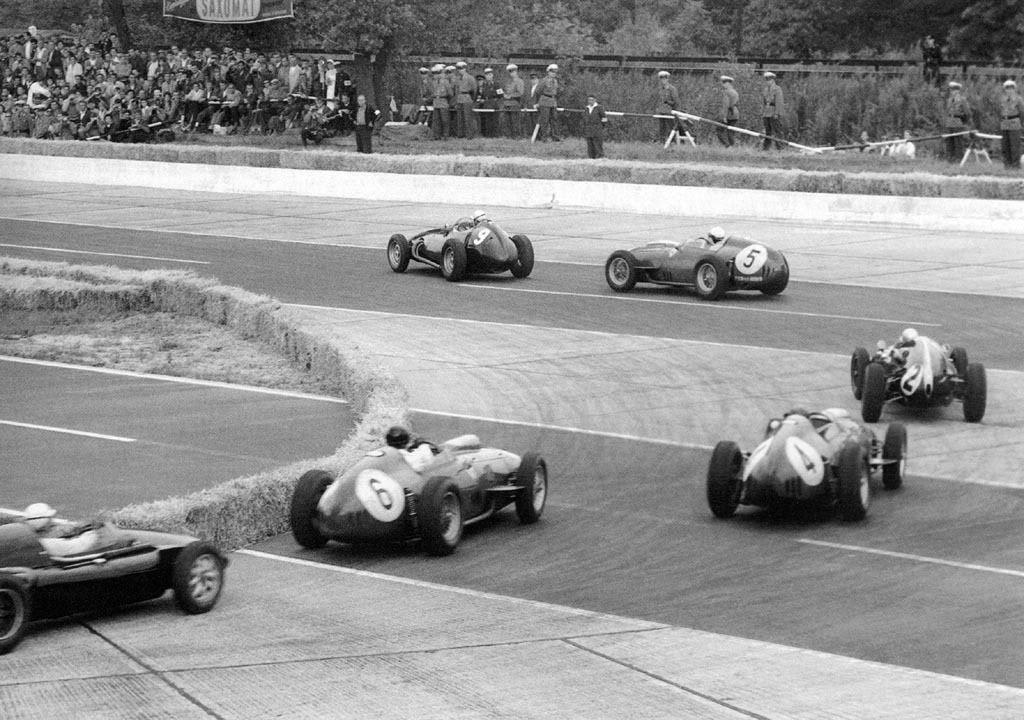 Avus, German Grand Prix, 1959.
