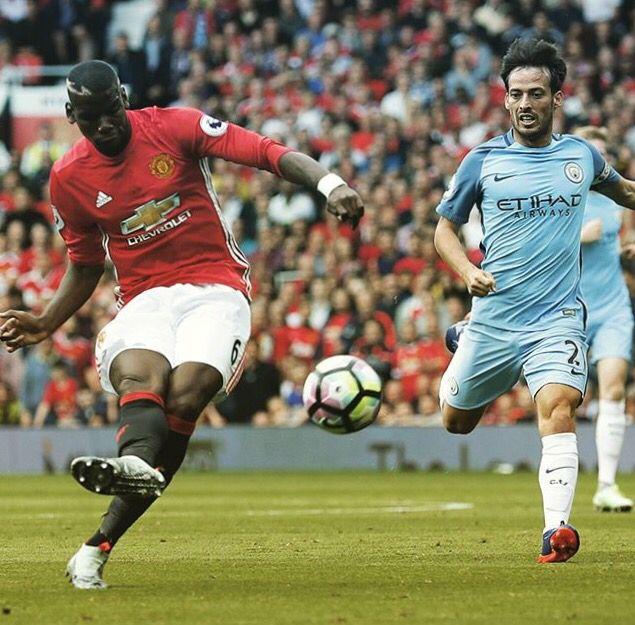 Pogba vs Manchester City