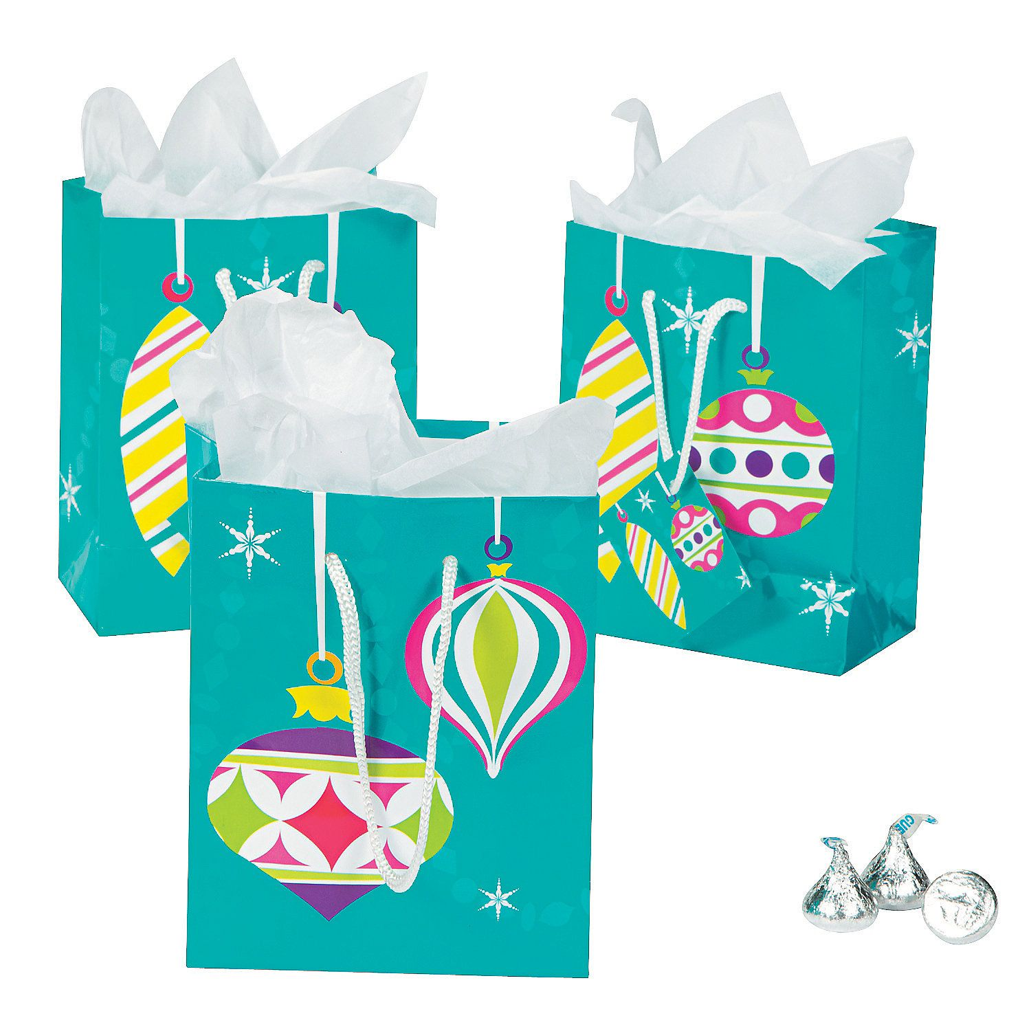 small bright christmas gift bags discontinued