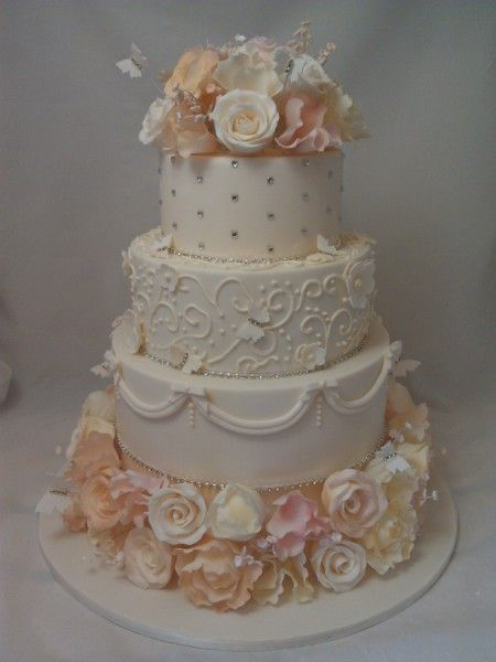 shabby chic wedding cakes | cake lady cakes for any special occasion ...