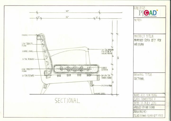 Picture Furniture Sketch Construction Drawings Furniture Design