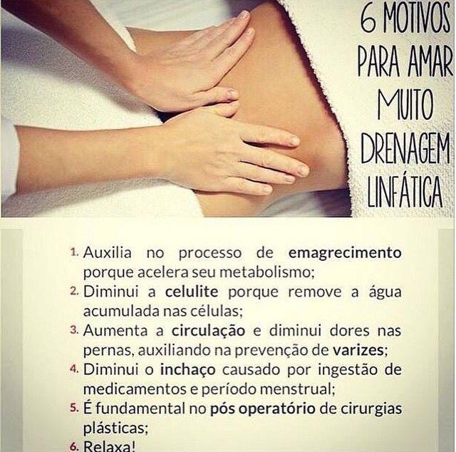 Drenagem Linfatica Dicas De Massagem Massagem Fotos De