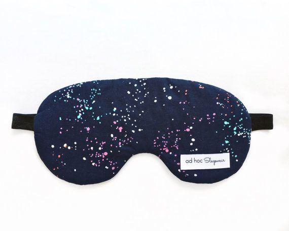 Sleep mask / Eye mask / Gift for her / Travel gift / Gift for him / Sleeping mask / Womens sleep mask / Mens sleep mask / Travellers gift