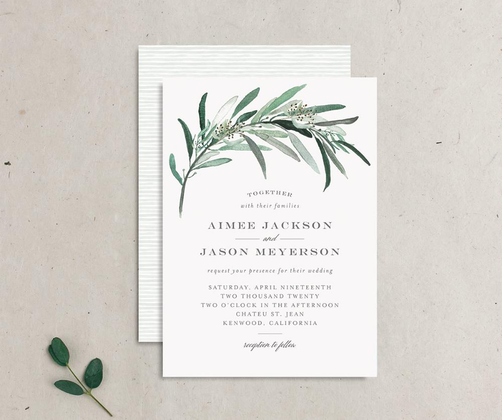 Wedding Invitations | Elli | Wedding invitations, Wedding wording ...