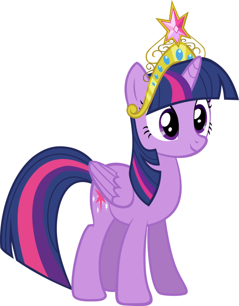 twilight sparkle with the element of harmony crown twilight