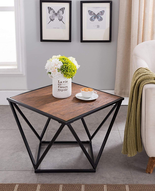Amazon Black Metal Frame Coffee Table 31 Diameter Just 19 As