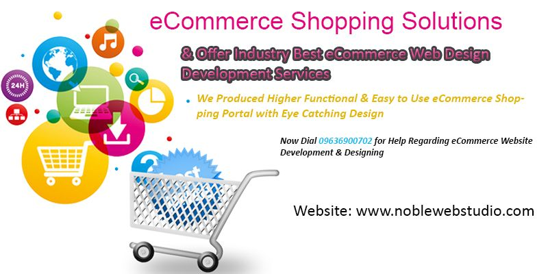 eCommerce Shopping Website Design & Development Services