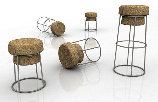 Domitalia presenta u201cbouchonu201d ai saloni la nuova seduta in sughero