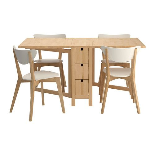 norden nordmyra table et 4 chaises ikea ikea table
