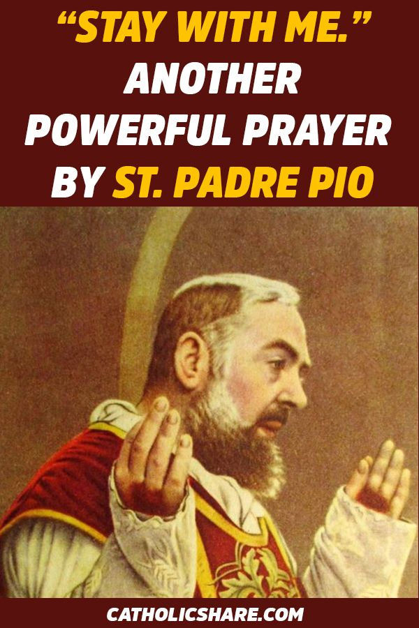 Padre pio miracle prayer