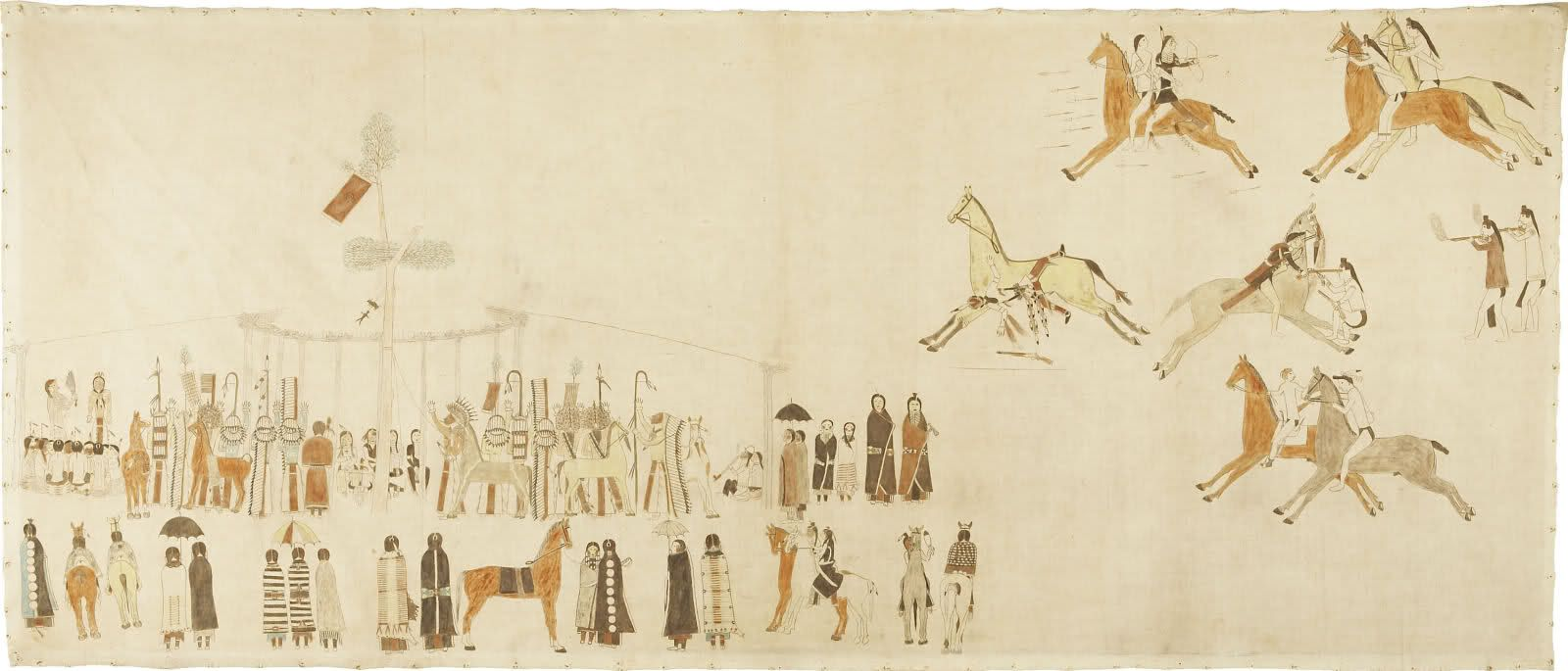 Ledger Art Of Elk : Plains indian ledger art this is how you do it and other