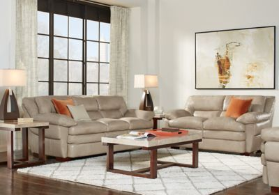 Fine Aventino Tan Leather 2 Pc Living Room Couches Leather Gmtry Best Dining Table And Chair Ideas Images Gmtryco