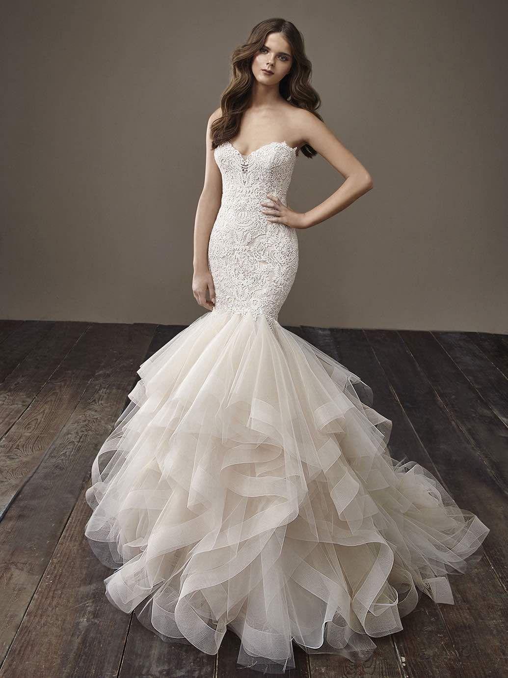 Wedding dresses fresno  Glamorously Modern Badgley Mischka Wedding Dresses Bride Collection