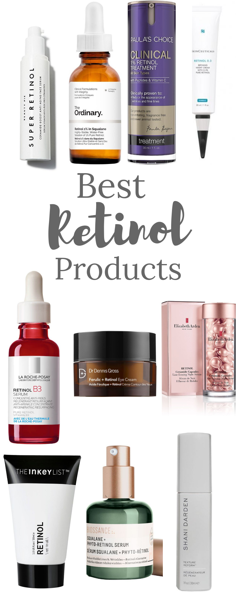 The Best Retinol Products For Aging Skin In 2020 Retinol Anti Aging Skin Products Skin Care