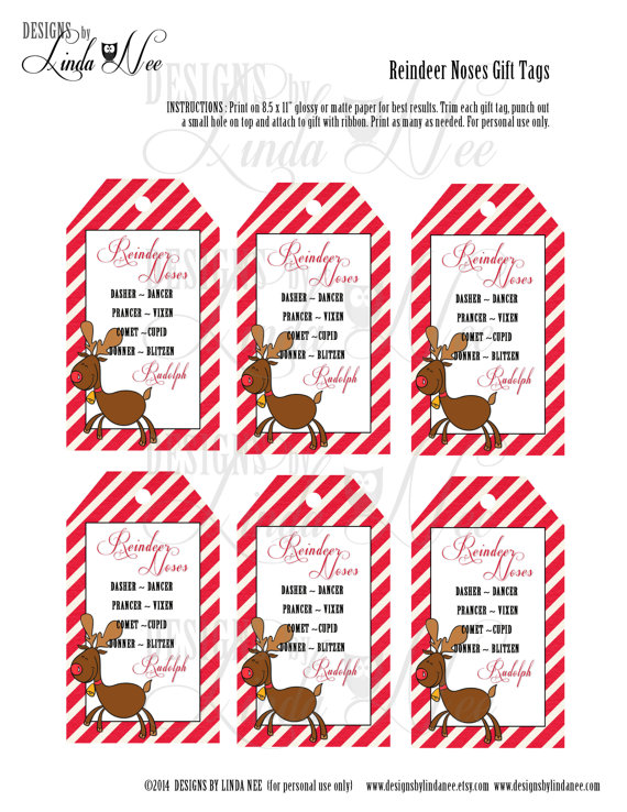 PDF FILE ONLY Craft is.. Labels and Gift Tags Combo