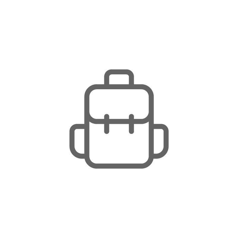 Backpack Bag Travel Hiking Icon Download On Iconfinder Travel Symbols Traveling By Yourself Travel Logo