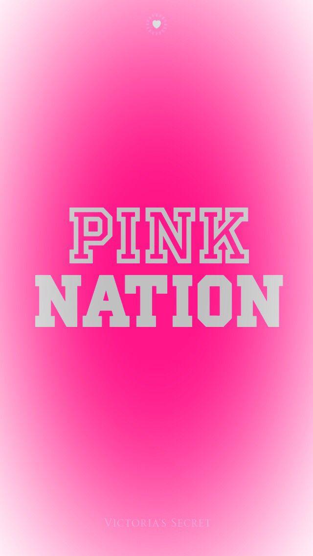 pink nation wallpaper  Pink nation wallpaper | Victories secret | Pinterest | Pink nation ...
