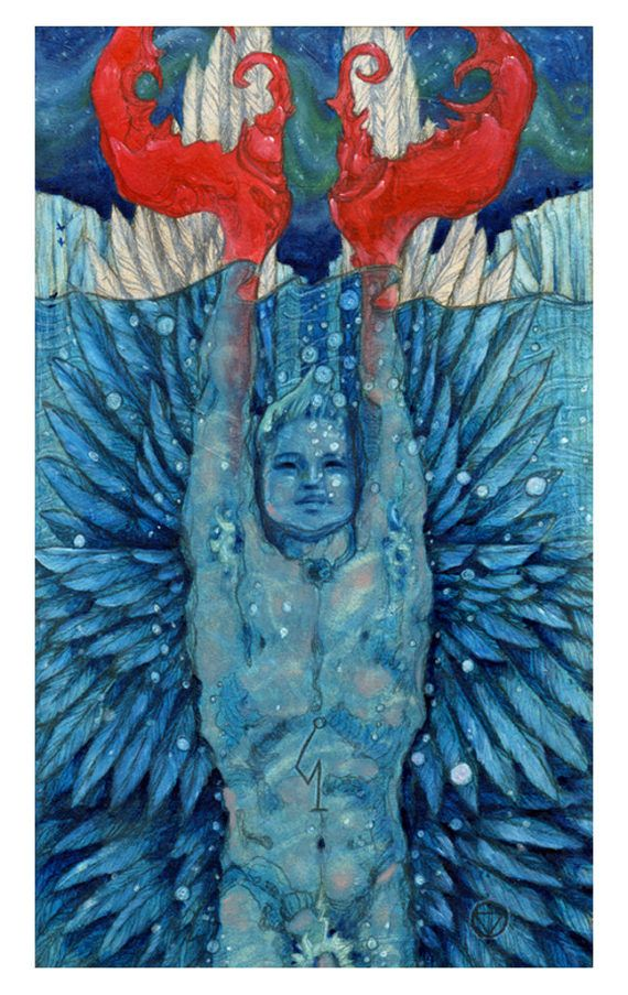 Image result for 6 of cups tarot the Mary-el