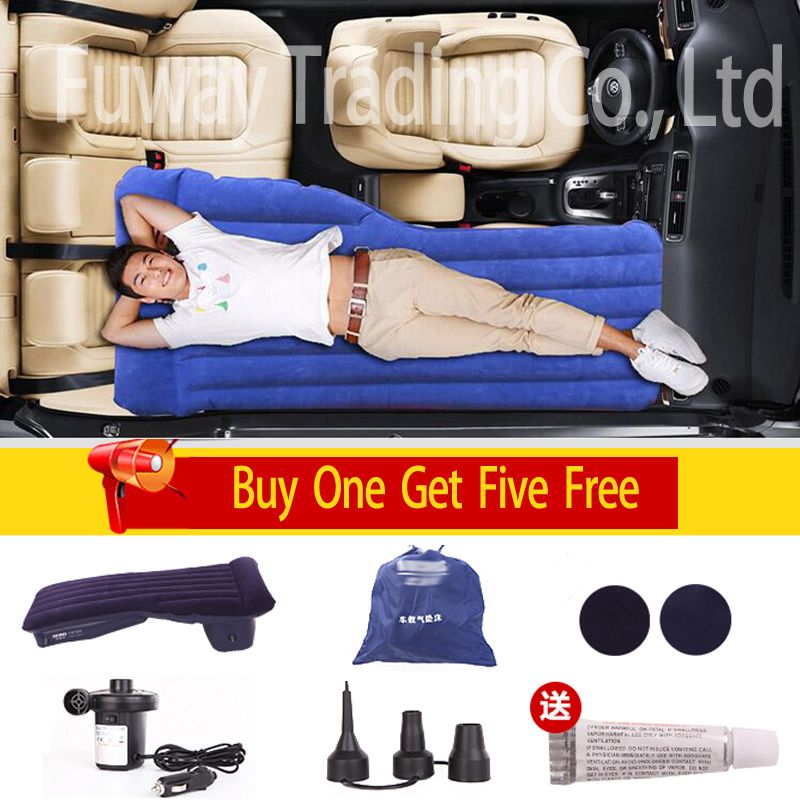 Inflatable Front To Back Seat Car Mattress With Images Car Air
