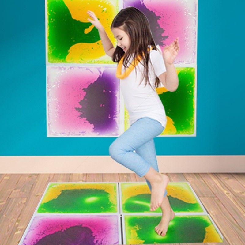 Fun And Function Gel Floor Tile 4 Pack In Red In 2020 Tile Floor