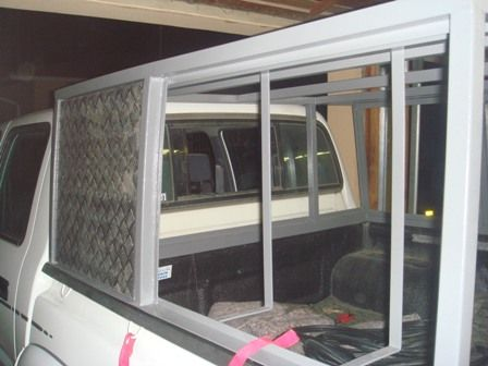 Diy Canopy For Hilux With Steel Frame And Aluminium