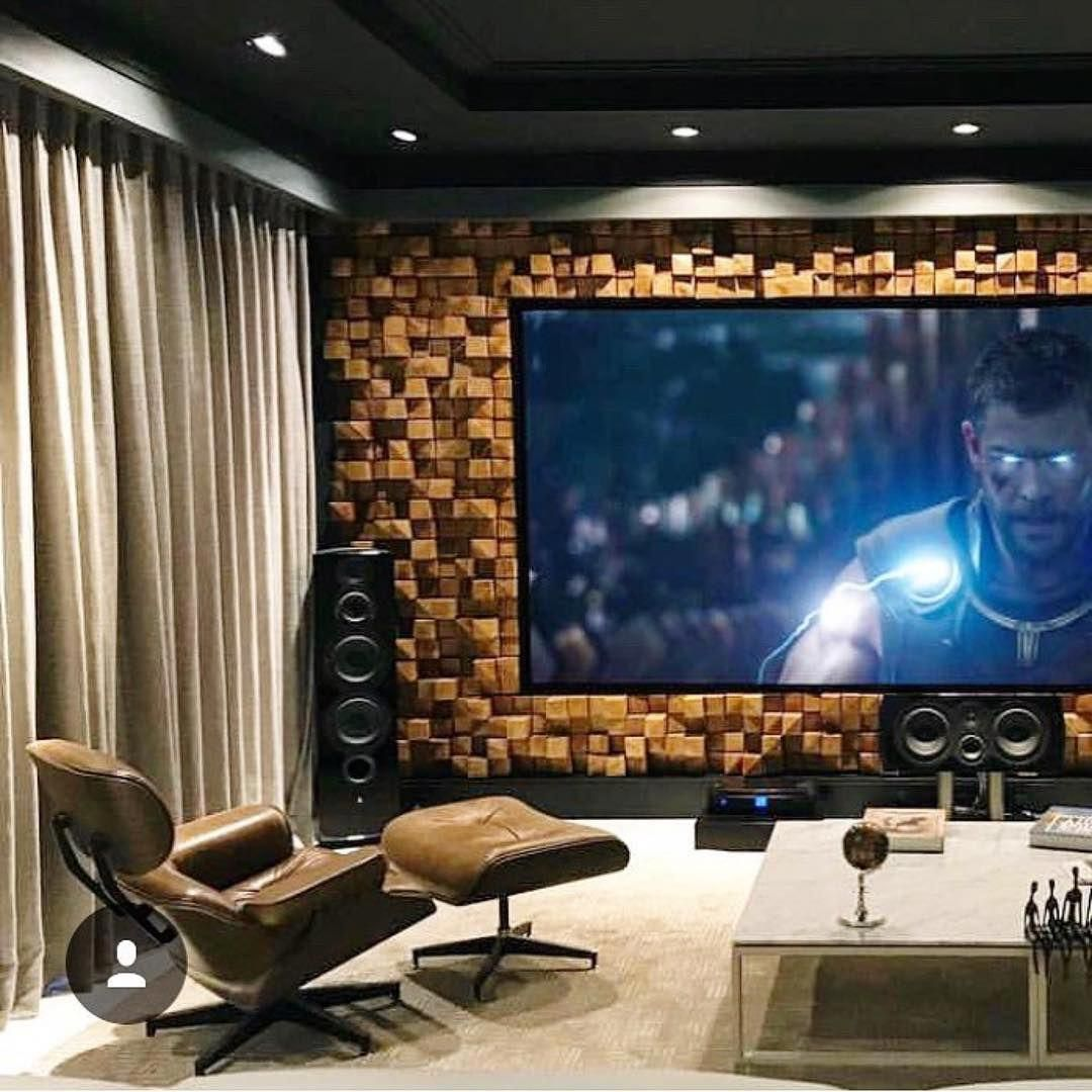 Eye-opening Home Theatre Room Design Ideas