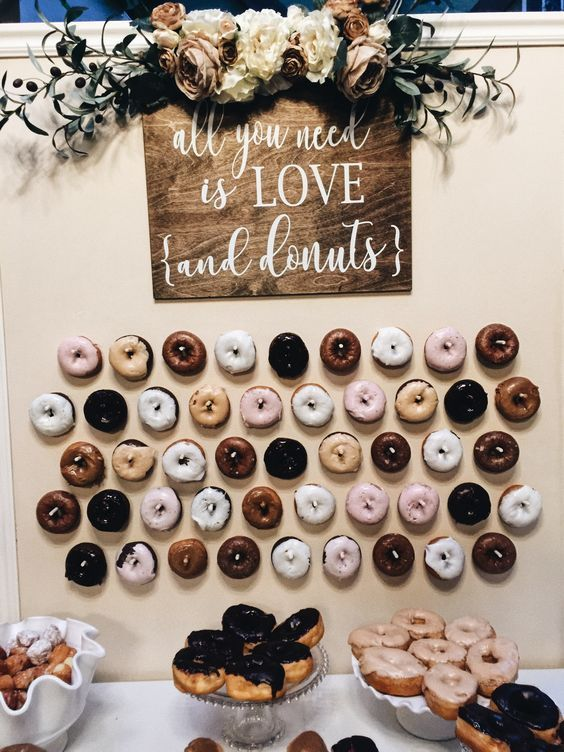 Latest Catering Trend of 2018-- Mouth-watering Donut ...