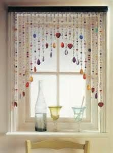 Lovely DIY   Beaded Curtains   Strands Of Colored Beads Can Be Used To Soften A  Stark Window, Rather Than To Provide Warmth Or Protect Privacy.