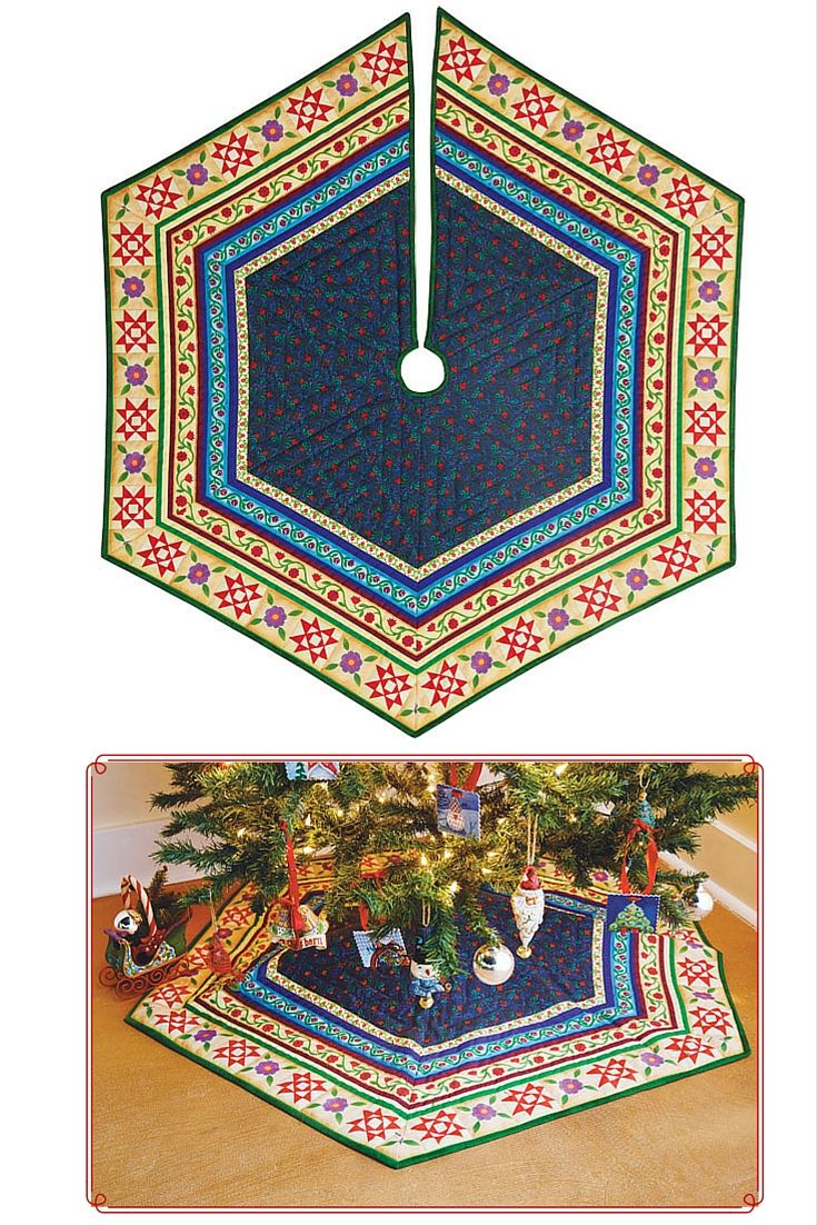 About Fons & Porter, a Division of Christmas tree skirts