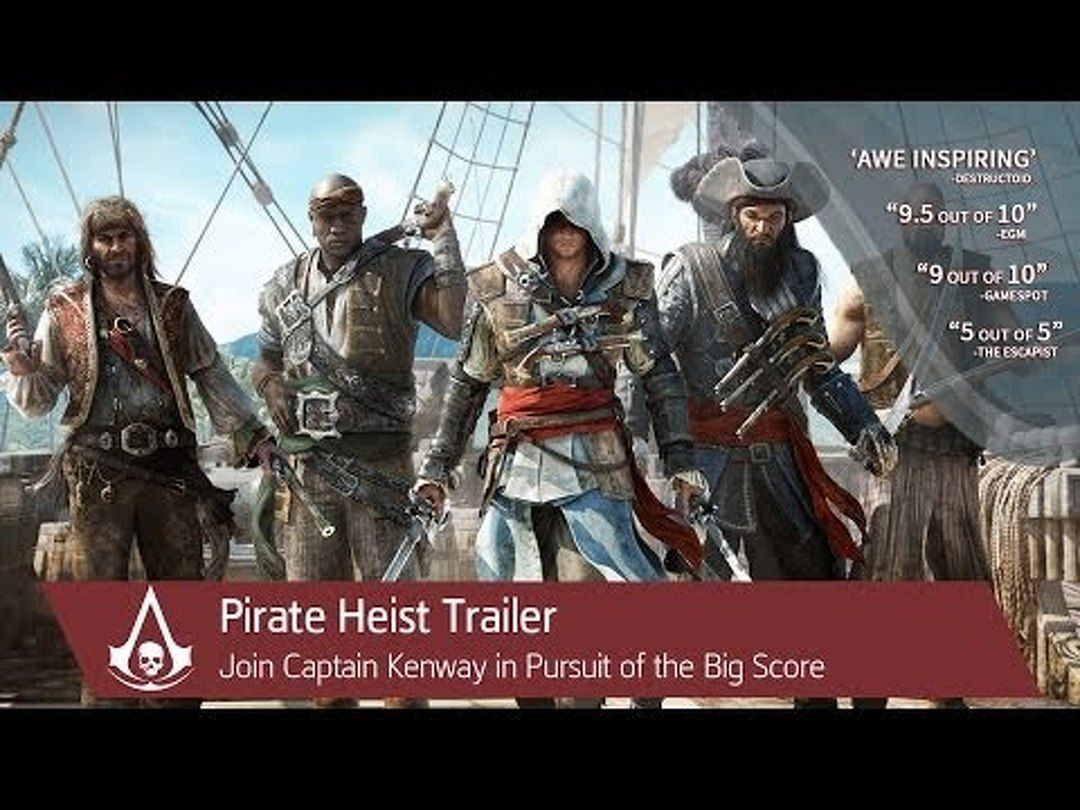 Pirate Heist Trailer Assassin's Creed 4 Black Flag