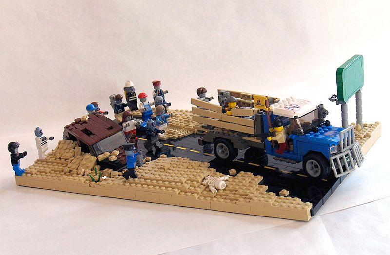 Zombie Hunt Lego Diorama | LEGO coolness | Pinterest ...