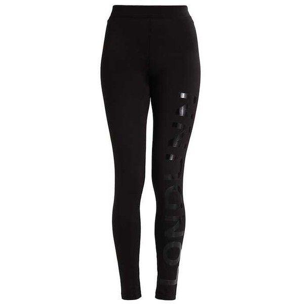 LONDUNN Leggings black (69 BRL) ❤ liked on Polyvore featuring pants, leggings and legging pants