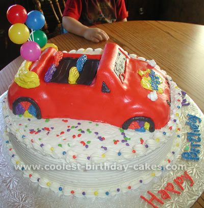 Coolest Wiggles Cakes and HowTo Tips Wiggles cake Cake photos