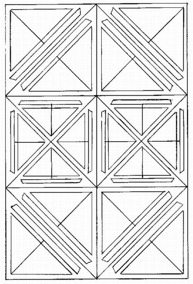 Printable Geometric Butterflies Coloring Pages   advanced pattern Colouring Pages (page 2)