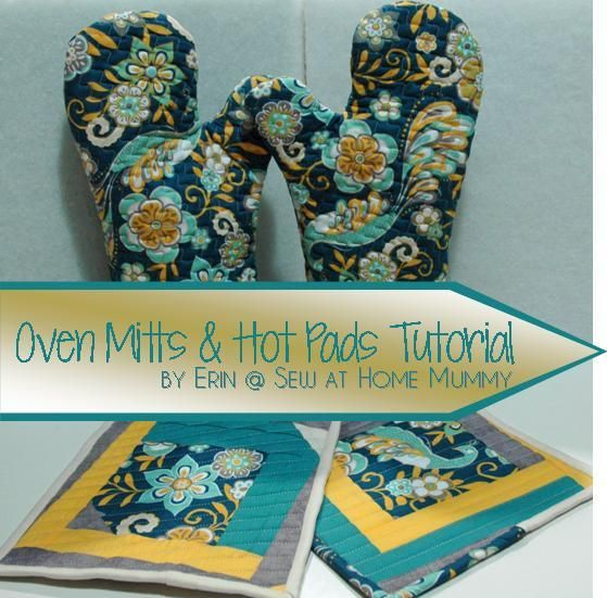 DIY Oven Mitt: Oven Mitts and Hot Pads Tutorial   sewing   Pinterest ...