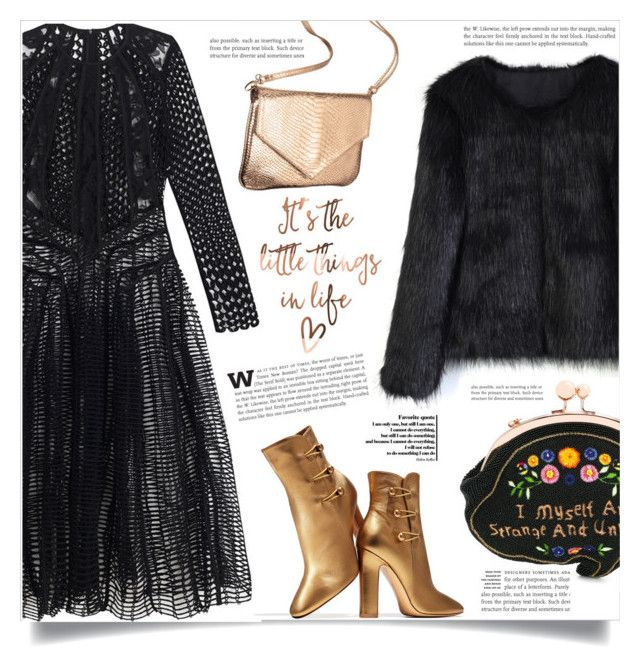 """""""Last cold evening"""" by dolly-valkyrie ❤ liked on Polyvore featuring Zimmermann, Chicwish, Gianvito Rossi and Sophia Webster"""