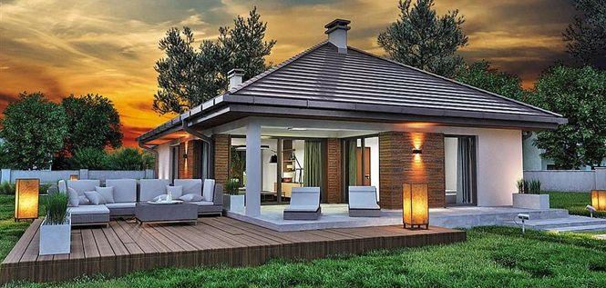 Šarmantna prizemna kuća (DETALJAN PLAN)