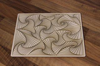 MSRaynsford: Spiral Line Drawings