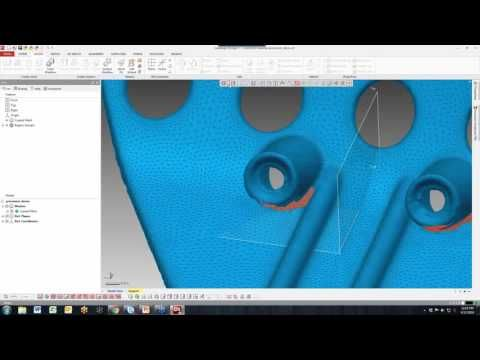 Geomagic Design X - Using 3D Scanning Wizards to Expedite