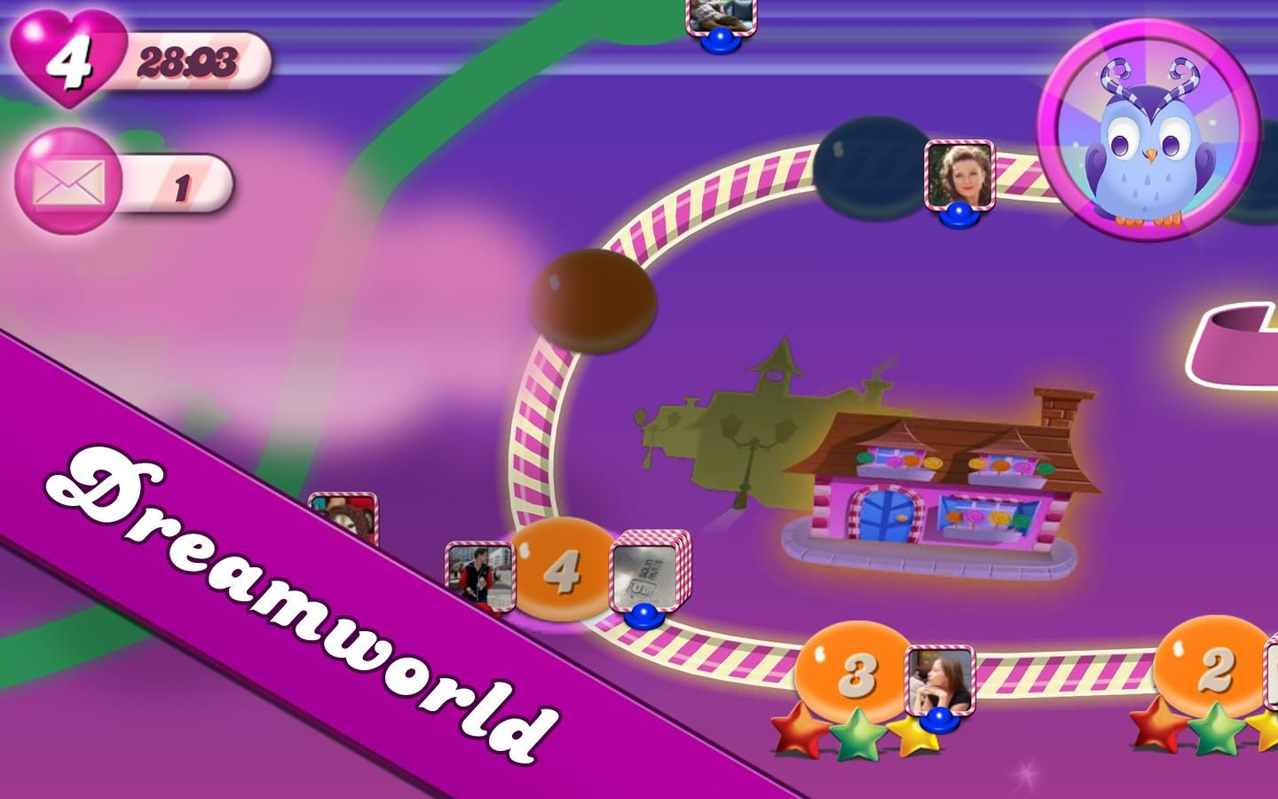 Candy Crush Saga for Android (screenshot) Candy Crush