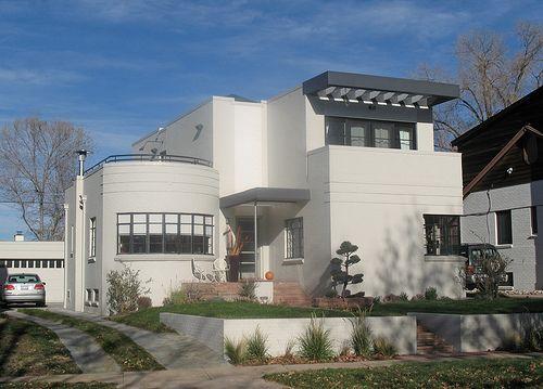 International Style Homes An International Style Home On Modern Art Deco House Styles International Style